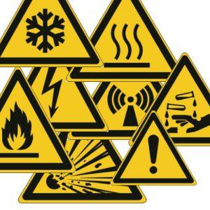 Etykiety ostrzegawcze