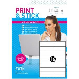 Etykiety samoprzylepne arkusze A4 do drukarek 105x36mm