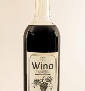 Naklejki na wino do druku, papier dekoracyjny A4