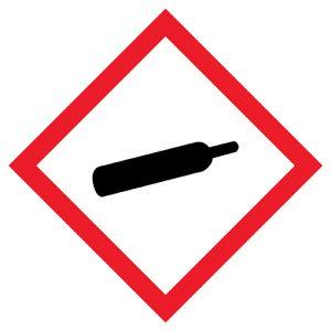 Znak GHS04 100x100mm - piktogramy BHP