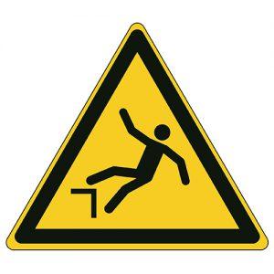 Etykieta ostrzegawcza W008 / ISO 7010 - piktogramy BHP
