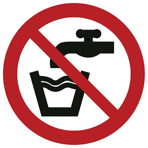 Znak zakazu P005 / ISO 7010 - piktogramy BHP