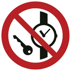 Znak zakazu P008 / ISO 7010 - piktogramy BHP zakazu P008 / ISO 7010 - piktogramy BHP