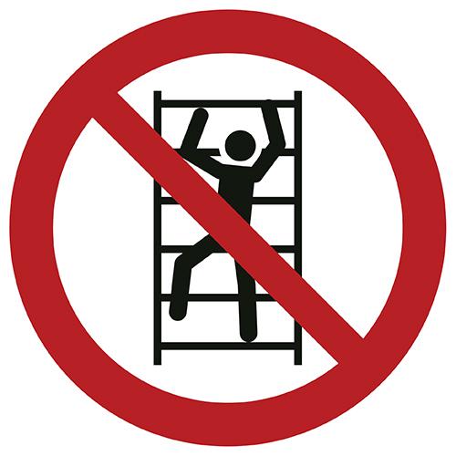 Znak zakazu P009 / ISO 7010 - piktogramy BHP