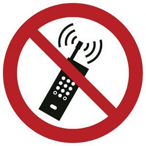 Znak zakazu P013 / ISO 7010 - piktogramy BHP
