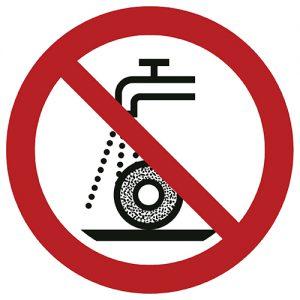 Znak zakazu P033 / ISO 7010 - piktogramy BHP