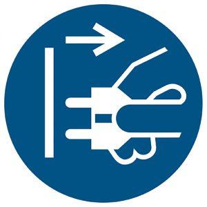 Znak nakazu M006 / ISO 7010 - piktogramy BHP